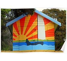 Sunshine Boat House  Poster