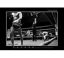 Boxing - Knock out Photographic Print