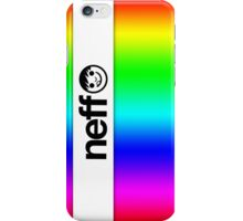 Rainbow Neff iPhone Case/Skin