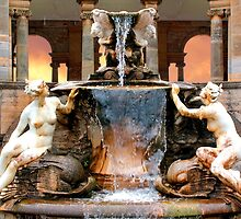 Historic Ornamental Fountain Display by jwwallace