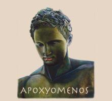 Greek Statue - Apoxyomenos by Matthew  Bates