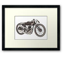 1926 Garelli motorcycle  Framed Print