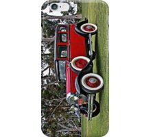 Red and Black Buick  iPhone Case/Skin