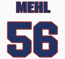 National football player Lance Mehl jersey 56 by imsport