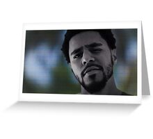 J. Cole New Legend Poster  Greeting Card