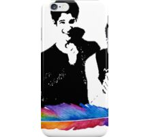 Tyler Posey Feather iPhone Case/Skin