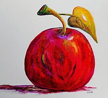 Kaleidoscope Apple or APPLE FOR THE TEACHER by EloiseArt