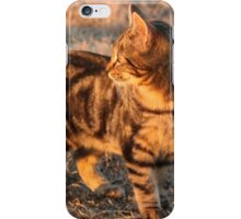 There Is A Tiger In Me... Bengal cat. iPhone Case/Skin