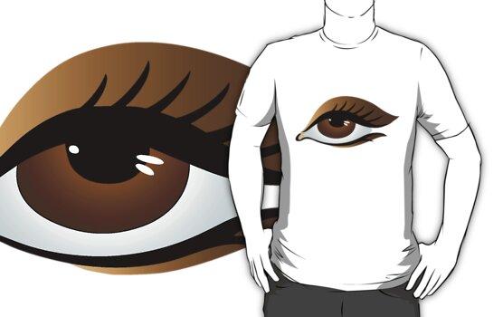 brown eye by VioDeSign