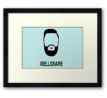 Jon Bellion Head #Bellionaire Framed Print