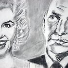 sinatra and monroe by andychampion