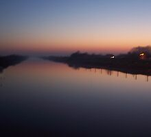 Sunsetting over River by Niall Rooney