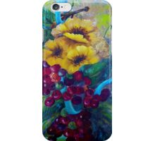 Too Delicate for Words iPhone Case/Skin