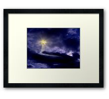 In Your Darkest Hour - I Will Comfort You Framed Print