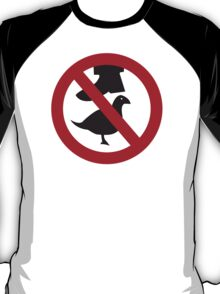 Don't Step on the Birds T-Shirt