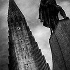 Hallgrim the viking , Reykjavik by Phil Scott