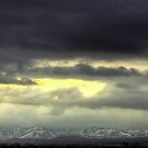 Big skies over Reykjavik by Phil Scott