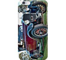Dodge tourer in burgundy iPhone Case/Skin