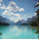 Maligne Lake, Jasper National Park, Canada by Colin Bowdery