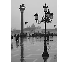 Rainy day in Venice Photographic Print
