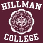 Hillman College by waywardtees