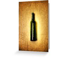 in vino veritas Greeting Card