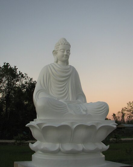 Budda at Sunset by Debbie Montgomery