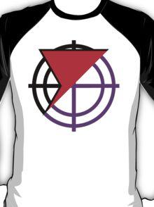 Black Widow/Hawkeye Mash Up T-Shirt
