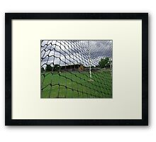 Arden street,North Melbourne, Football Ground Framed Print