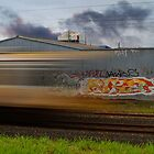 Train Graffiti by Ben Ryan