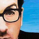 Elvis Costello by KarenYeeFineArt