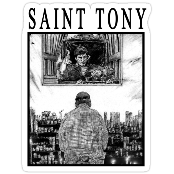 Saint Tony by MH Heintz