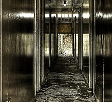 Oily Corridor by Richard Shepherd