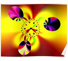 Time in Fractal Universe Poster