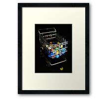 Losing My Marbles Framed Print