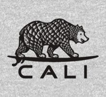 Black Cali Bear T-Shirt