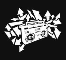 Boombox dark shirts edition by Joseph Osborne