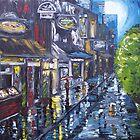 Night In Amsterdam by Trisha Lamoreaux