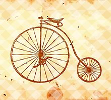 Old fashioned bicycle by yulia-rb