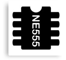 NE 555 IC Canvas Print