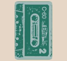 Cassette Tape Awesomeness Tee by Danielle  La Valle