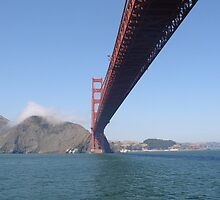 Under the Golden Gate Bridge  by Chele Willow