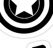 The Avengers all Symbols Nerdy Must Have Sticker