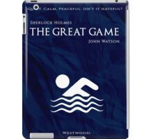 BBC Sherlock - The Great Game iPad Case/Skin