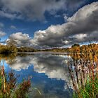 Autumn Lake by Nigel Bangert