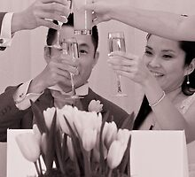 The Wedding Toast by MiImages