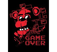 Five Nights At Freddy's Pizzeria Game Over Photographic Print