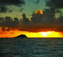 Saint Maarten Sunset by Stevej46