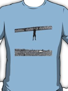 Given to fly. Transparent vectorial design. T-Shirt