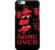 Five Nights At Freddy's Pizzeria Game Over iPhone Case/Skin